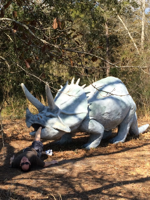 Dinosaurs In the Woods