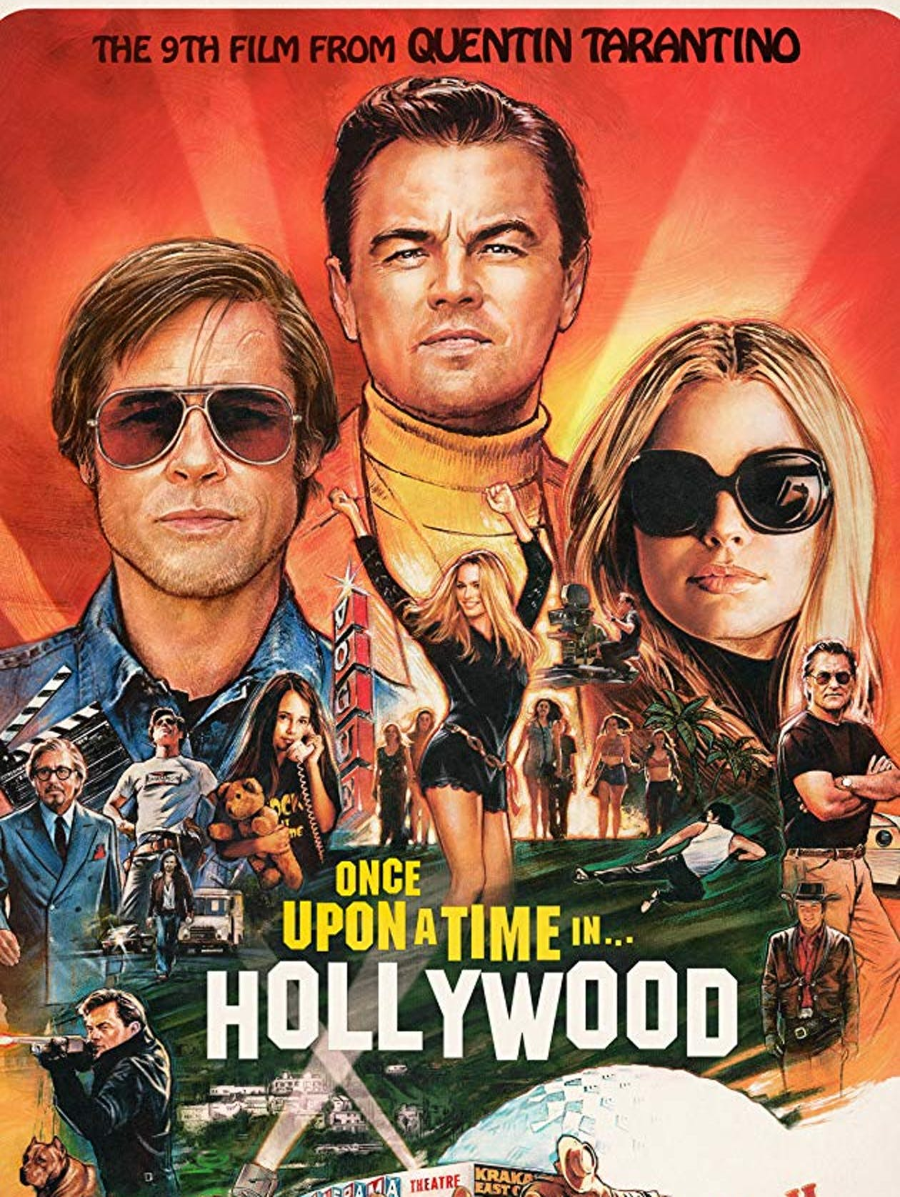 Image result for Once Upon a Time in Hollywood""